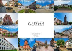 Gotha Impressionen (Wandkalender 2019 DIN A2 quer) von Meutzner,  Dirk