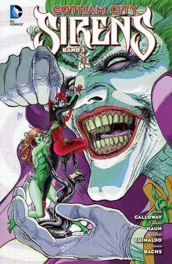 Gotham City Sirens von Calloway,  Peter, March,  Guillem