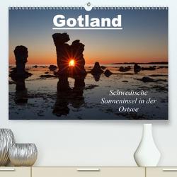 Gotland – Sonneninsel in der Ostsee (Premium, hochwertiger DIN A2 Wandkalender 2021, Kunstdruck in Hochglanz) von Schörkhuber,  Johann