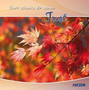Gott schenke dir seinen Trost