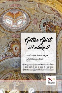 Gottes Geist ist überall von Antesberger,  Günther, Brunner,  Tina, Spath,  Gunther