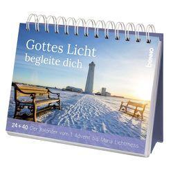 Weihnachts- und Adventskalender »Gottes Licht begleite dich« von Bauch,  Volker
