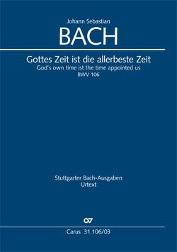 Gottes Zeit ist die allerbeste Zeit (Klavierauszug) von Bach,  Johann Sebastian