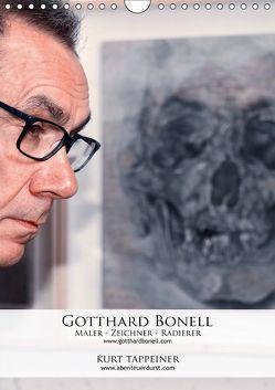 Gotthard Bonell Maler – Zeichner – Radierer (Wandkalender 2019 DIN A4 hoch)