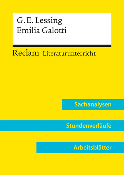 Gotthold Ephraim Lessing: Emilia Galotti (Lehrerband) von Bekes,  Peter