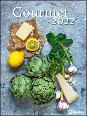 Gourmet 2022 – Foto-Kalender – Poster-Kalender – 48×64 – Rezepte – Küche