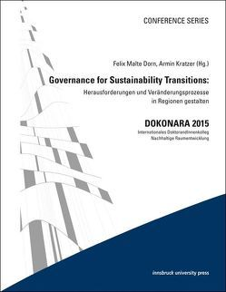Governance for Sustainability Transitions von Dorn,  Felix Malte, Kratzer,  Armin