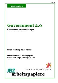 Government 2.0 von Röthler,  David, Spielmann,  Walter