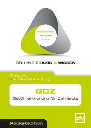 GOZ von Baumeister-Henning,  Christine