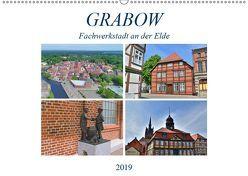 Grabow – Fachwerkstadt an der Elde (Wandkalender 2019 DIN A2 quer) von Rein,  Markus