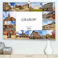 Grabow Impressionen (Premium, hochwertiger DIN A2 Wandkalender 2020, Kunstdruck in Hochglanz) von Meutzner,  Dirk