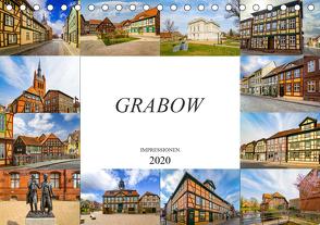 Grabow Impressionen (Tischkalender 2020 DIN A5 quer) von Meutzner,  Dirk