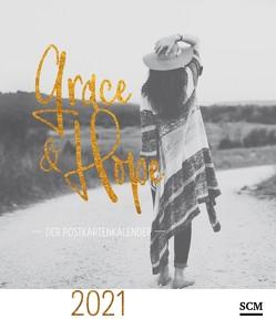 Grace & Hope 2021 – Postkartenkalender