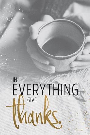 "Grace & Hope ""Give thanks"" – Wand- und Standbild"