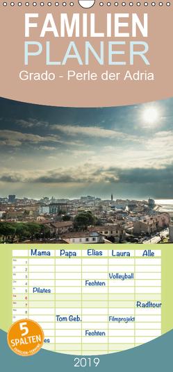Grado – Perle der Adria – Familienplaner hoch (Wandkalender 2019 , 21 cm x 45 cm, hoch) von cmarits,  hannes