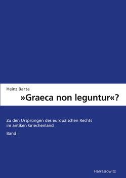 """""""Graeca non leguntur?"""" von Barta,  Heinz"""