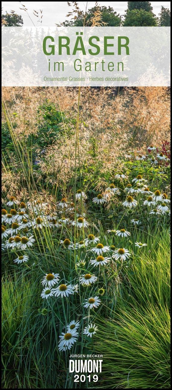 Gemüsegarten kalender  Gräser im Garten 2019 – DUMONT Wandkalender – Garten-Kalender –