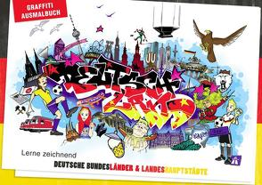 Graffiti Ausmalbuch – Deutschland