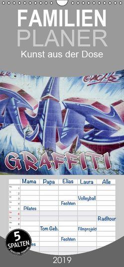 Graffiti – Kunst aus der Dose – Familienplaner hoch (Wandkalender 2019 , 21 cm x 45 cm, hoch) von ACME