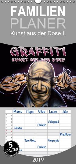 Graffiti – Kunst aus der Dose II – Familienplaner hoch (Wandkalender 2019 , 21 cm x 45 cm, hoch) von ACME