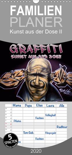 Graffiti – Kunst aus der Dose II – Familienplaner hoch (Wandkalender 2020 , 21 cm x 45 cm, hoch) von ACME