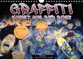 Graffiti – Kunst aus der Dose III (Wandkalender 2018 DIN A4 quer) von ACME