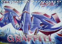 Graffiti – Kunst aus der Dose (Tischkalender 2019 DIN A5 quer) von ACME