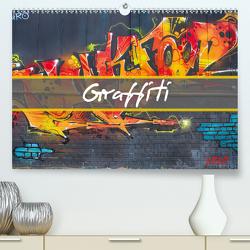 Graffiti (Premium, hochwertiger DIN A2 Wandkalender 2020, Kunstdruck in Hochglanz) von Meutzner,  Dirk