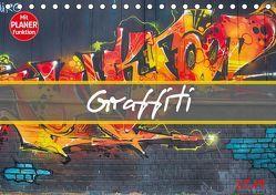 Graffiti (Tischkalender 2019 DIN A5 quer) von Meutzner,  Dirk