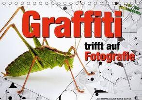 Graffiti trifft auf Fotografie (Tischkalender 2018 DIN A5 quer) von KEASTWO Jones,  Jonni, Wehrle und Uwe Frank,  Ralf