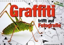 Graffiti trifft auf Fotografie (Wandkalender 2019 DIN A4 quer) von KEASTWO Jones,  Jonni, Wehrle und Uwe Frank,  Ralf