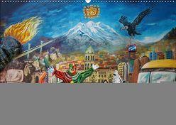 Graffiti und Street Art in La Paz (Wandkalender 2019 DIN A2 quer) von Max Glaser,  Dr.