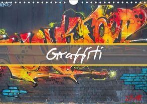 Graffiti (Wandkalender 2018 DIN A4 quer) von Meutzner,  Dirk