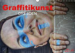Graffitikunst Dresden (Wandkalender 2019 DIN A3 quer) von Meutzner,  Dirk