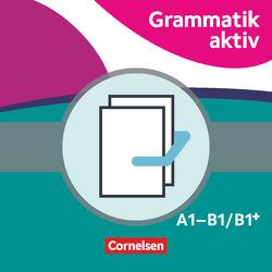 Grammatik aktiv / A1-B1 – Üben, Hören, Sprechen von Jin,  Friederike, Voß,  Ute