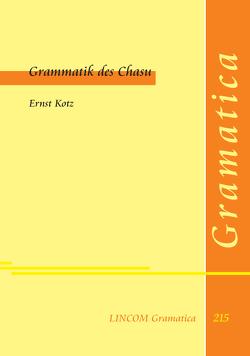 Grammatik des Chasu von Kotz,  Ernst