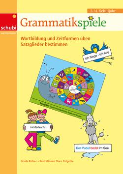 Lernspiele für den Deutschunterricht / Grammatikspiele von Küfner,  Gisela, Ostgathe,  Doro