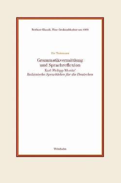 Grammatikvermittlung und Sprachreflexion von Tintemann,  Ute