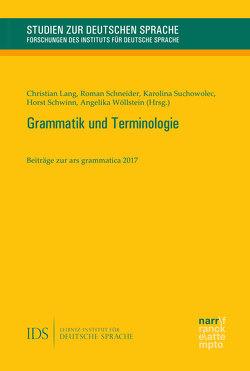 Grammatische Terminologie von Schneider,  Roman