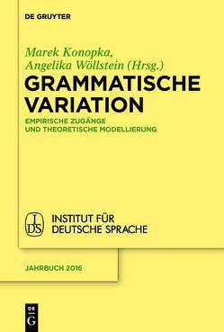Grammatische Variation von Konopka,  Marek, Wöllstein,  Angelika