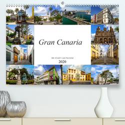 Gran Canaria Die Stadt Las Palmas (Premium, hochwertiger DIN A2 Wandkalender 2020, Kunstdruck in Hochglanz) von Meutzner,  Dirk