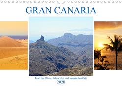 Gran Canaria – Insel der Dünen, Schluchten und malerischen Orte (Wandkalender 2020 DIN A4 quer) von Frost,  Anja
