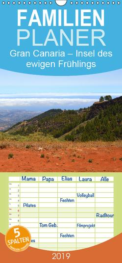 Gran Canaria – Insel des ewigen Frühlings – Familienplaner hoch (Wandkalender 2019 , 21 cm x 45 cm, hoch) von Stoll,  Sascha