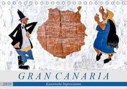 Gran Canaria – Kanarische Impressionen (Tischkalender 2019 DIN A5 quer) von Meyer,  Dieter