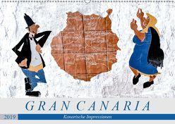 Gran Canaria – Kanarische Impressionen (Wandkalender 2019 DIN A2 quer) von Meyer,  Dieter