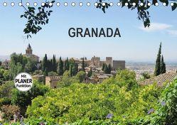 Granada (Tischkalender 2019 DIN A5 quer) von Ganz,  Andrea