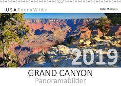 GRAND CANYON Panoramabilder (Wandkalender 2019 DIN A3 quer) von Wilczek,  Dieter-M.