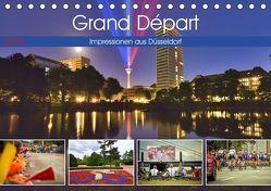 Grand Départ – Impressionen aus Düsseldorf (Tischkalender 2019 DIN A5 quer) von Hackstein,  Bettina