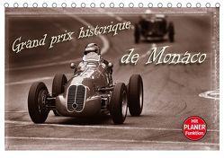 Grand Prix historique de Monaco (Tischkalender 2019 DIN A5 quer) von Bau,  Stefan