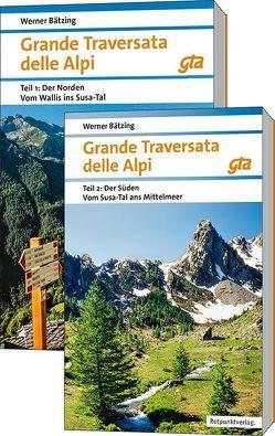 Grande Traversata delle Alpi Nord und Süd von Baetzing,  Werner